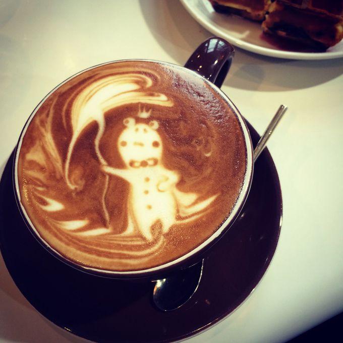 高松空港で本格ラテアートが味わえる「カフェ・ヴォーノ」