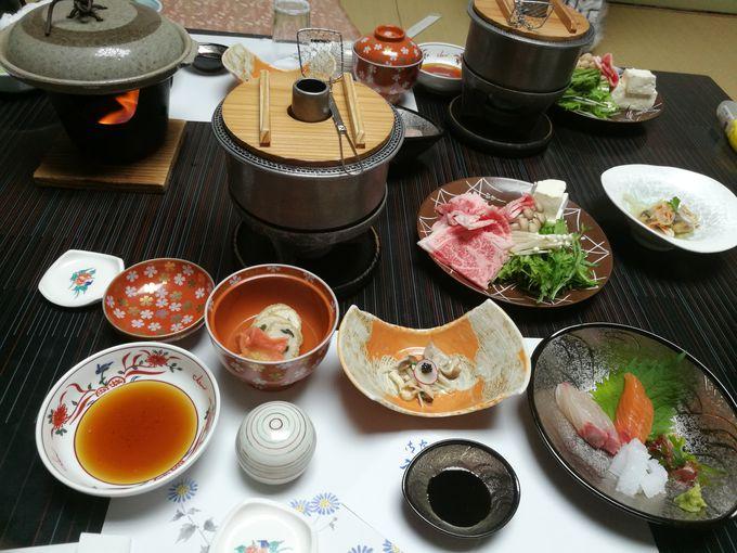 夕食は佐賀県産のおいしい料理を満喫