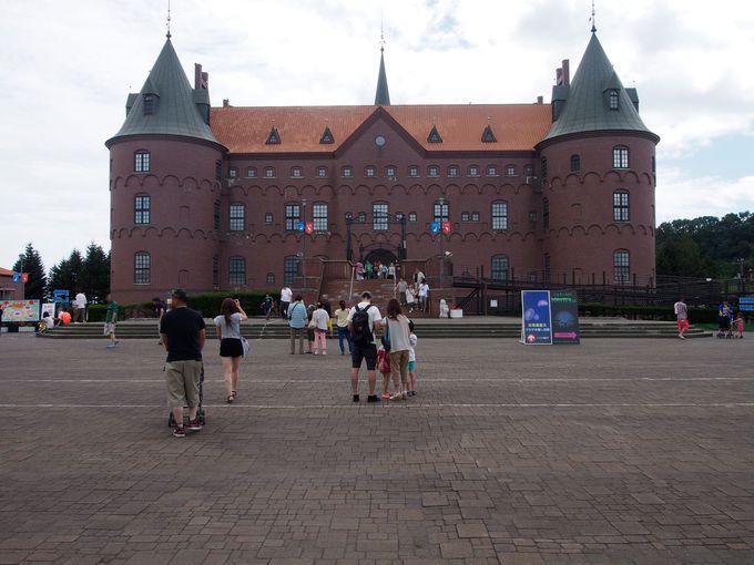 内部に水族館がある、登別マリンパークニクスの「ニクス城」