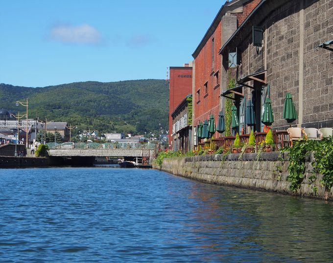 13.「小樽運河」北海道観光の鉄板