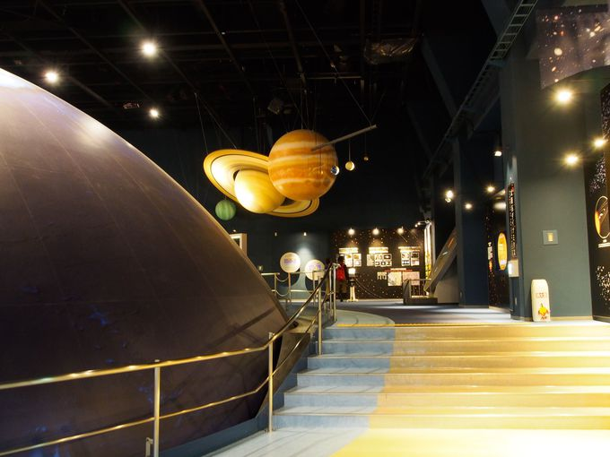 「天文・地球科学コーナー」で学ぶ宇宙と地球