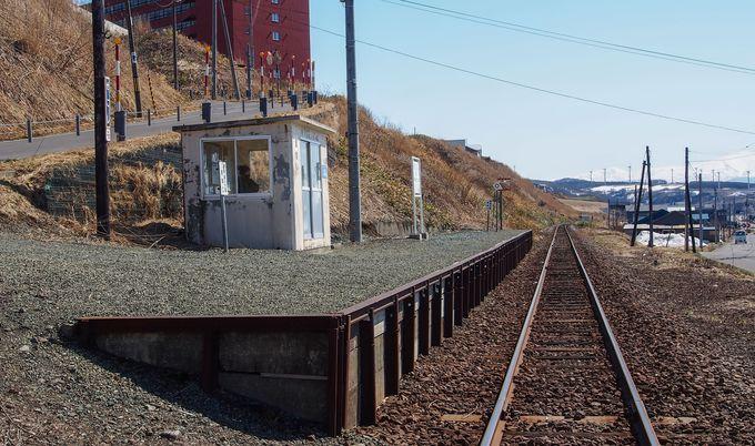 留萌の日本海沿いにある「瀬越駅」