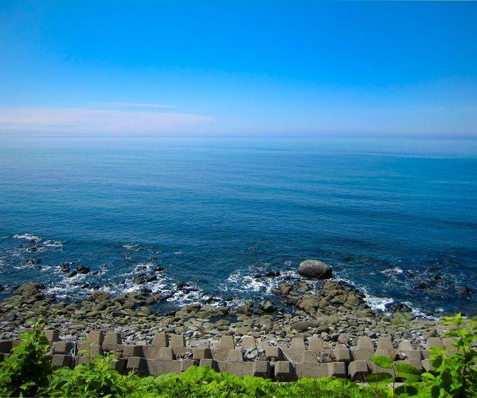 癒しポイントその4:オホーツク海をのんびり鑑賞