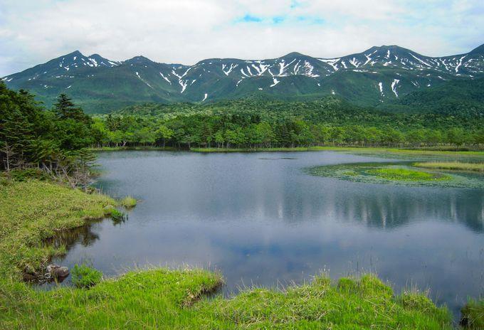 撮影シーンその3:湖畔展望台から見た一湖の風景は必見!