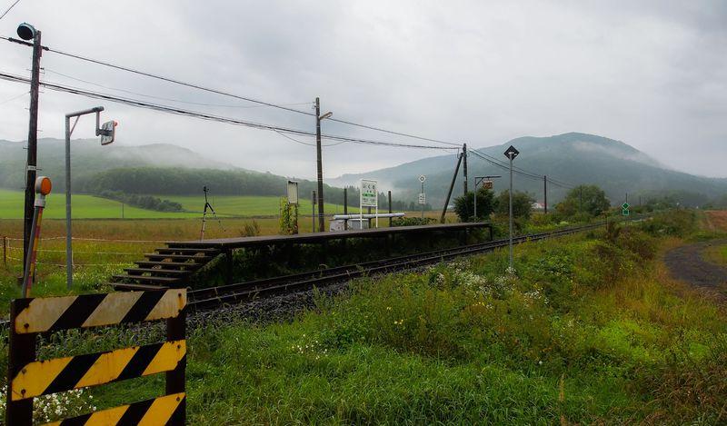 山間の平地にポツンと佇む秘境駅。北海道・石北本線「生野駅」