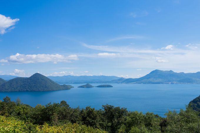 日本で9番目に大きい湖「洞爺湖」は風光明媚な観光スポット