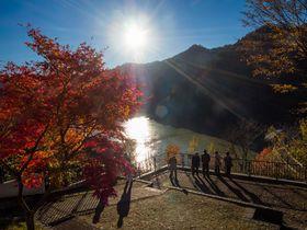 北海道・定山渓「豊平峡ダム」は紅葉名所!秋に彩られた山はまさに絶景