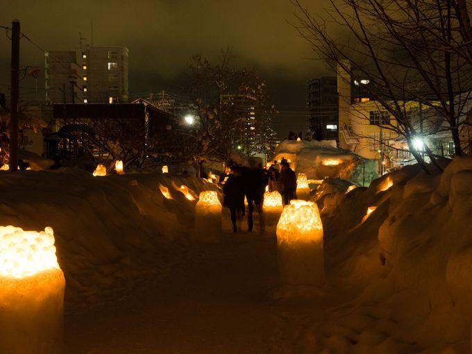 小樽雪あかりの路の夜景を撮影してみよう