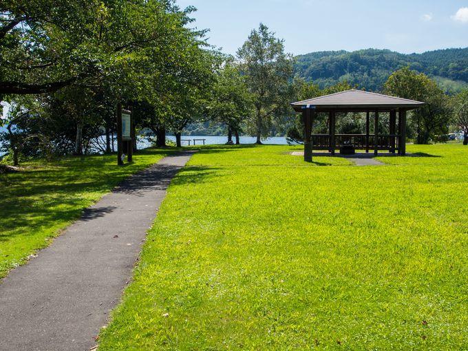 和やかな公園風景