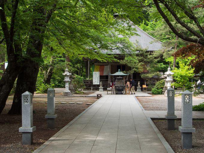 自然の観光スポットにある寺院「秋保大滝不動堂」