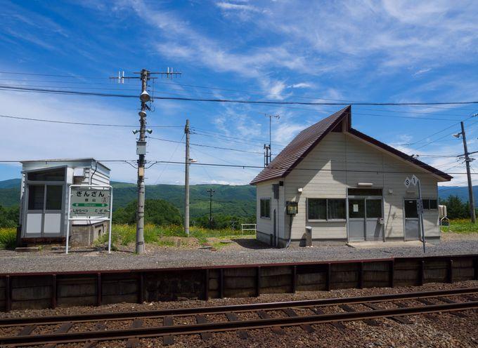 駅からの見晴らしがとても良い「銀山駅」