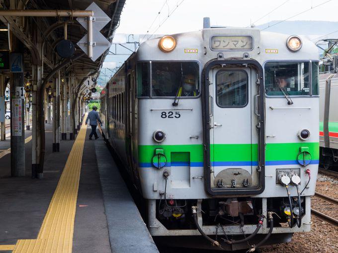 山線の始まりは、「小樽駅」から気動車に乗って
