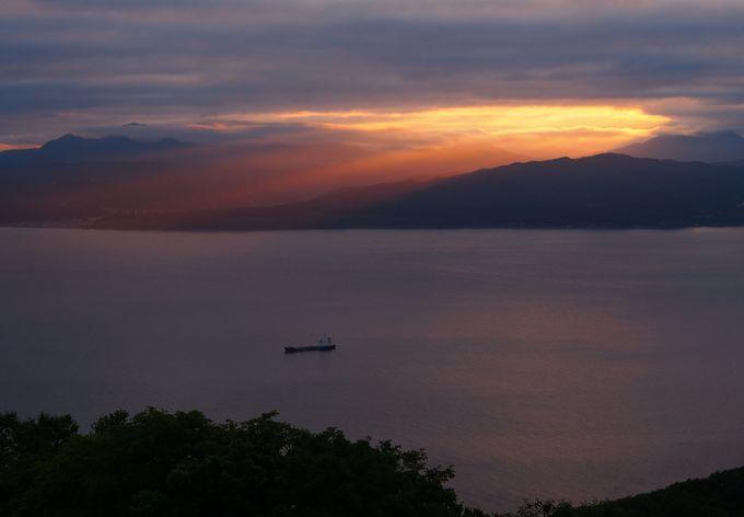 函館山から見る夕景は格別