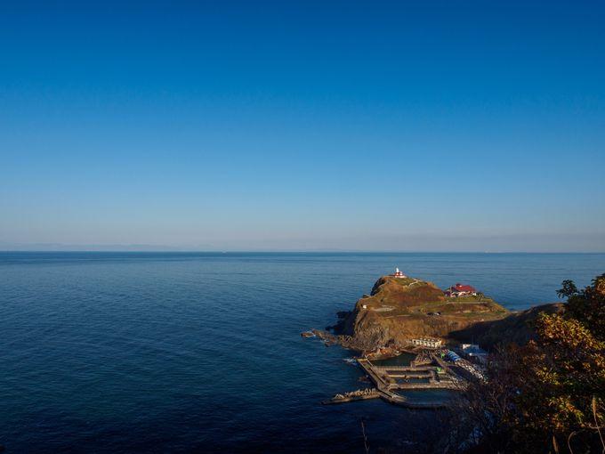 祝津パノラマ展望台から見渡せる日本海の絶景!