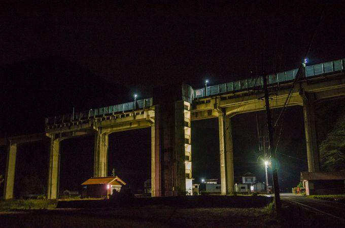 宇都井駅から夜の上り線に乗る場合は注意が必要