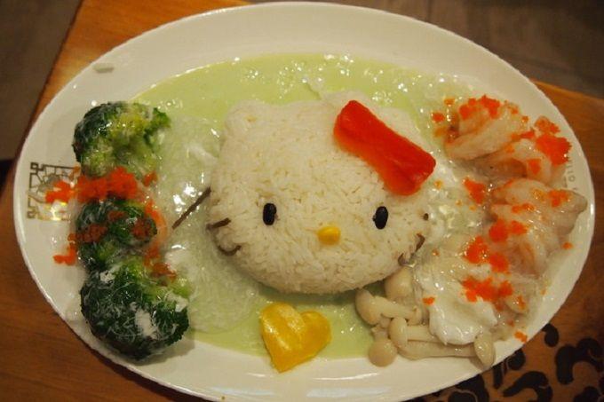 ハローキティーの中華料理屋「中菜軒」