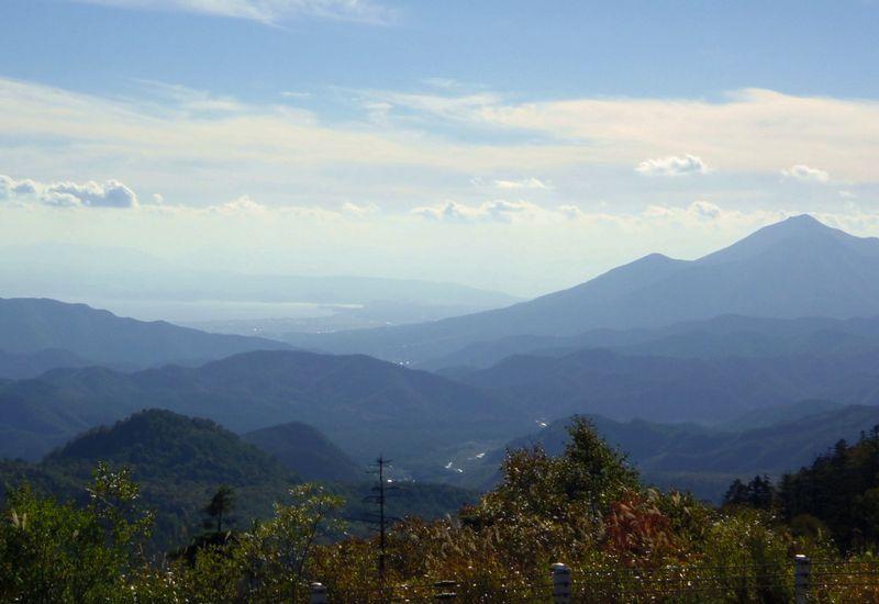 会津地方を見下ろす眺望スポットが点在