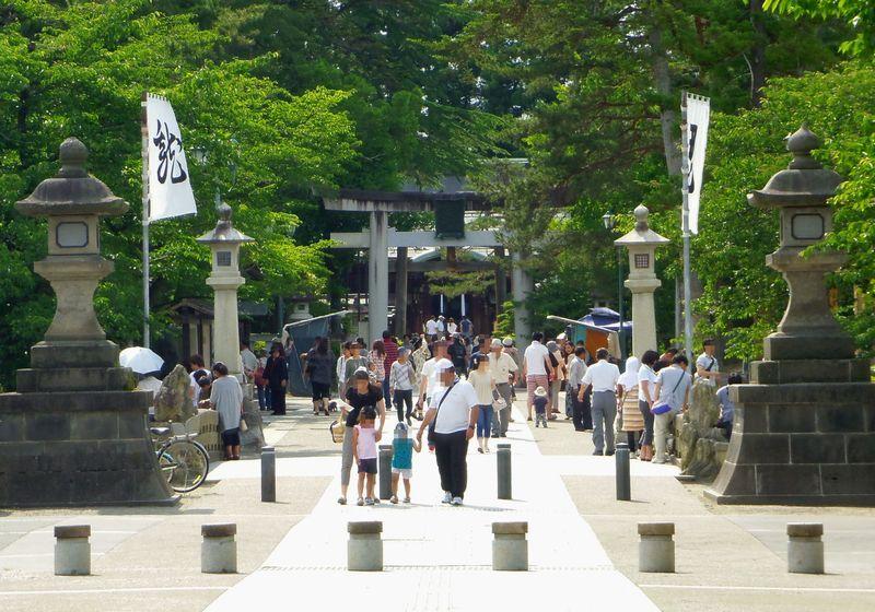 1.上杉神社