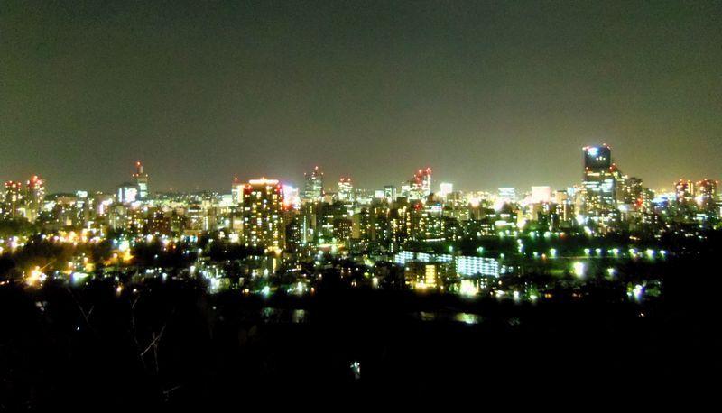 仙台城の夜は〜仙台市街の夜景を一望できます!