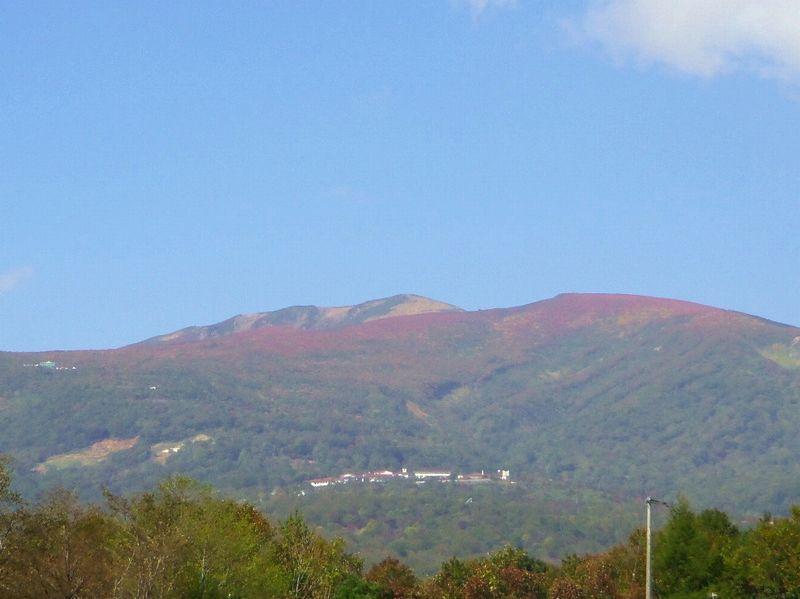 東北の真ん中にそびえる「栗駒山」