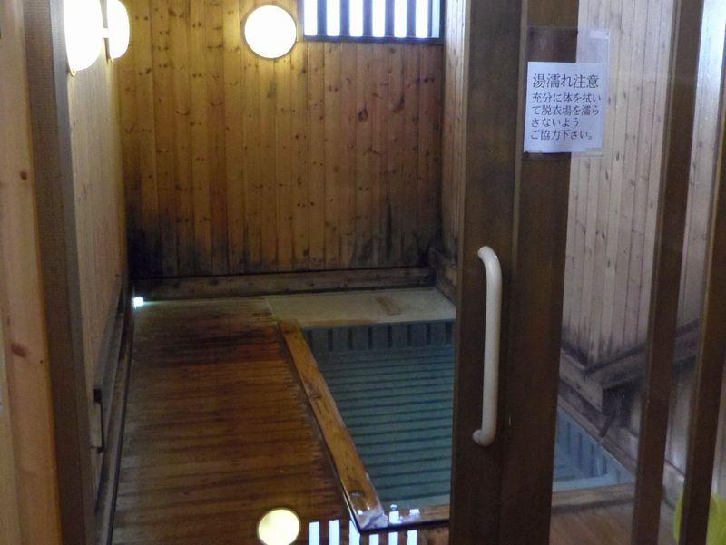 川原湯共同浴場でも「すのこの湯」に入れます!