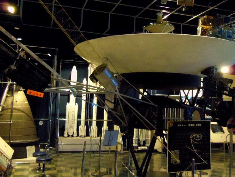 コスモハウスで宇宙開発の展示見学・角田市台山公園