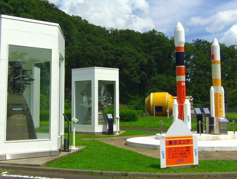 実物のロケットエンジンが見れる!JAXA角田宇宙センター