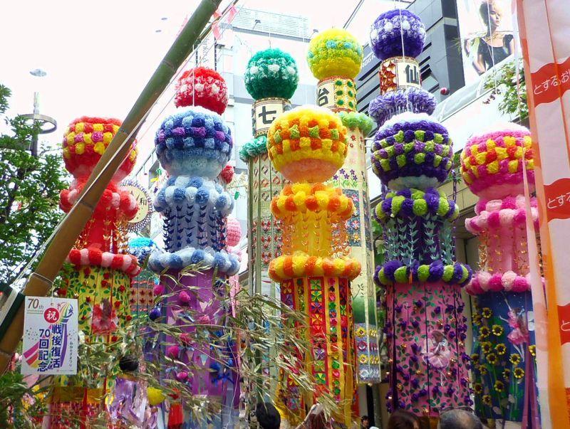 豪華絢爛な七夕飾りは日本一!夏の風物詩「仙台七夕まつり」