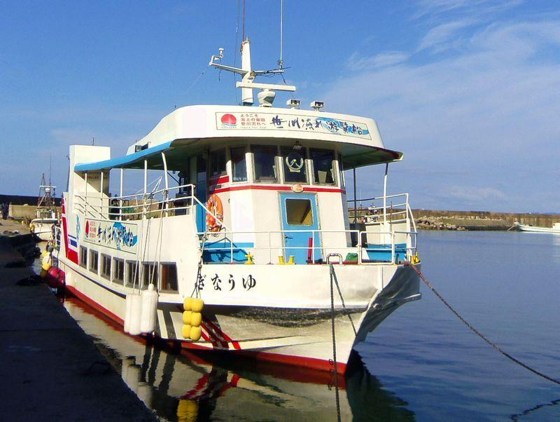 遊覧船でダイナミックな笹川流れを楽しもう