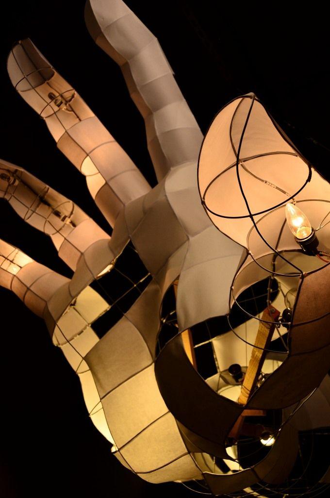 山車灯籠(ねぶた)の仕組み
