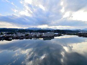 まるでウユニ塩湖。日田温泉「ひなの里・山陽館」は部屋からの眺めが絶景