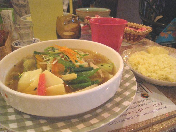 「スープカレー」発祥の地札幌で本場の味を!
