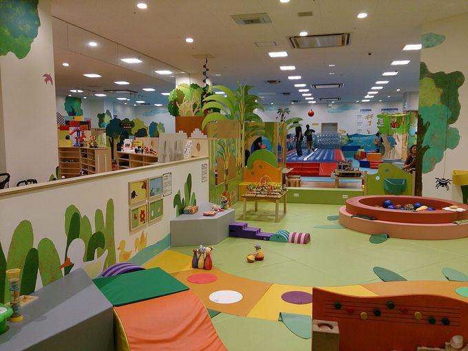 まずは、親子で遊ぼう♪ボーネルンドの室内遊び場「キドキド」!