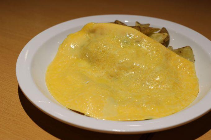 フレッシュ卵3個分のオムレツもおすすめ!
