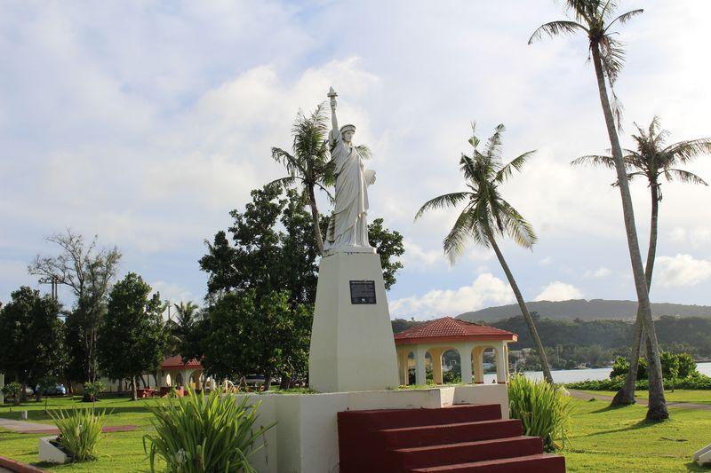 グアムに自由の女神が!?ハガニア地区街歩き観光おすすめコース