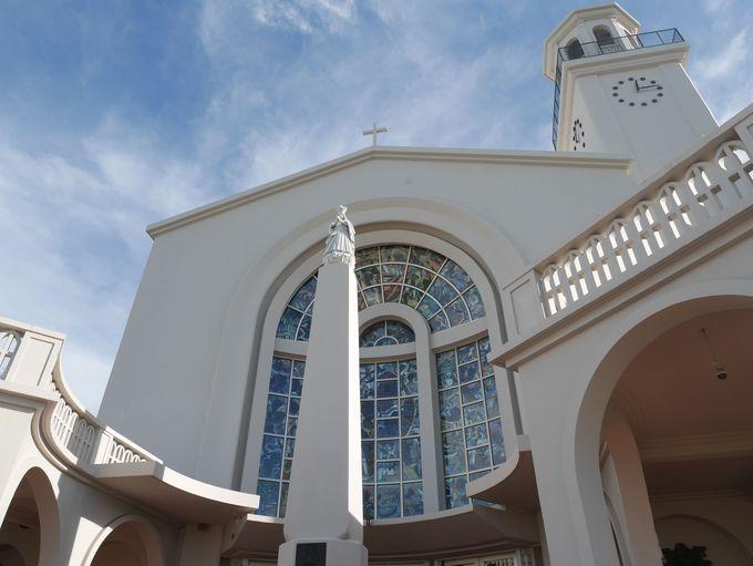 「聖母マリア大聖堂」は市民の憩いの教会