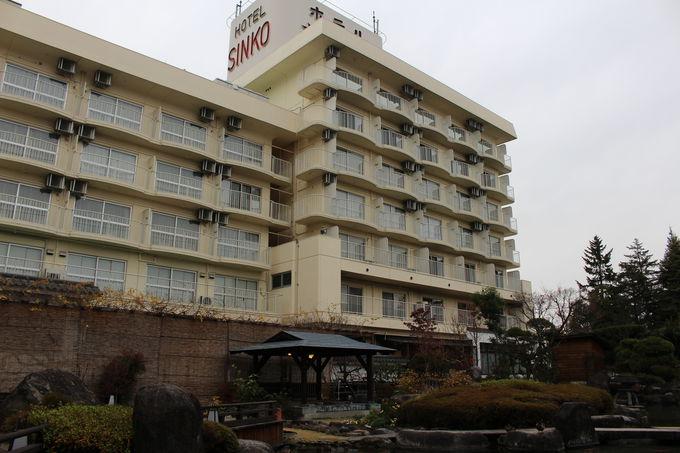 ファミリーに人気の大型温泉旅館