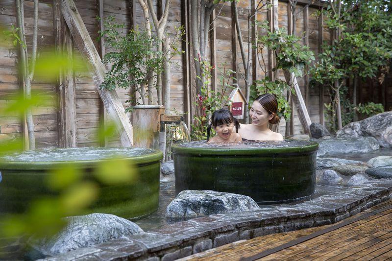 「OYUGIWA海老名」は癒しの温浴施設!ごろ寝穴やハンモックも