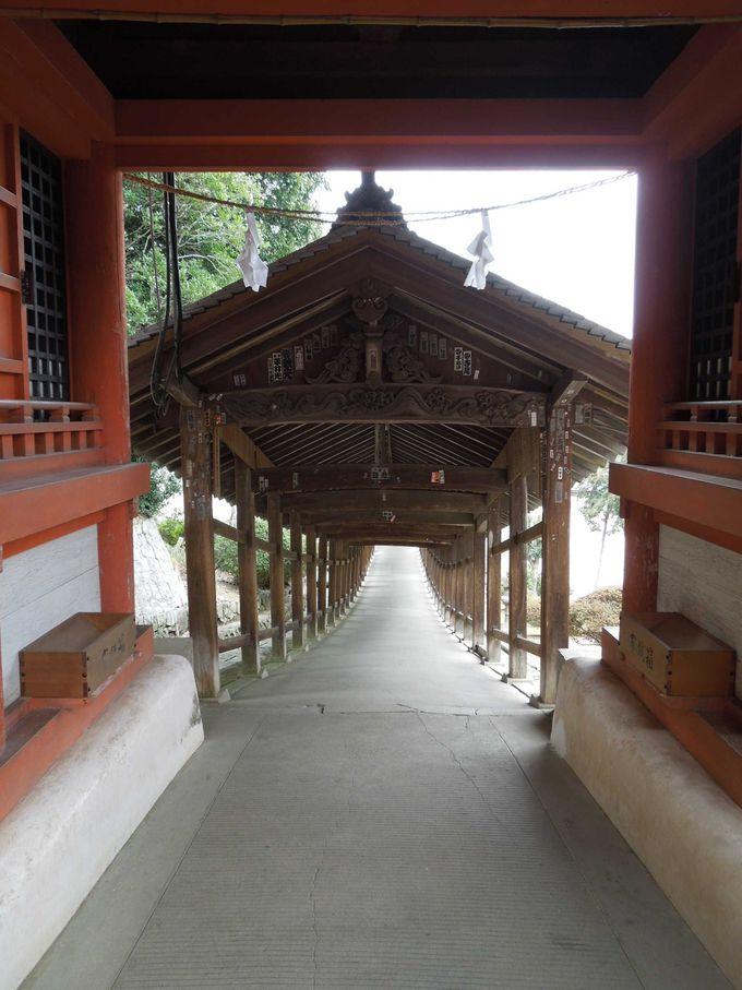 美しく長い廻廊と『鳴釜神事』が有名な『吉備津神社』