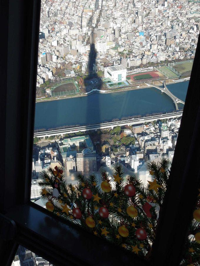 さらに100メートル上の『天望廻廊』へ