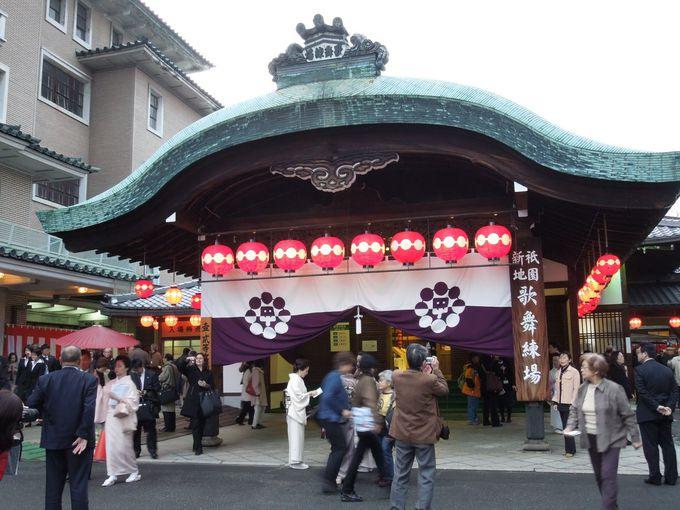 艶やかな『都をどり』で、日本の四季めぐり