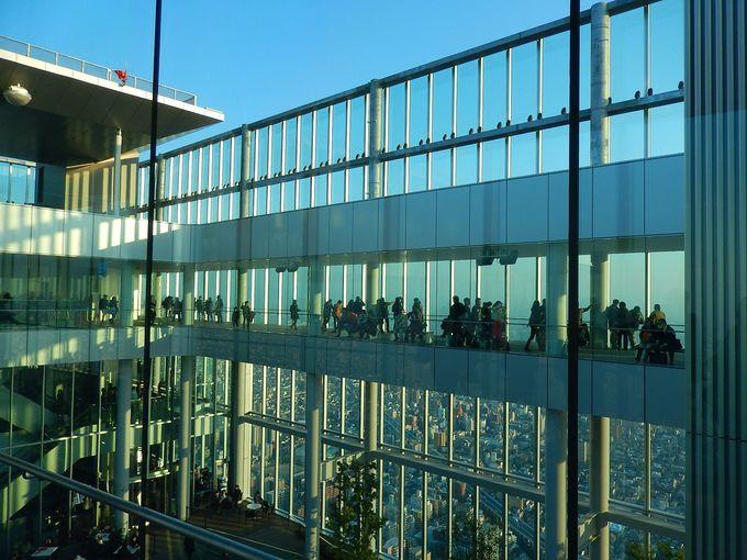 3日目午後:最後は「あべのハルカス」で大阪を見晴るかす