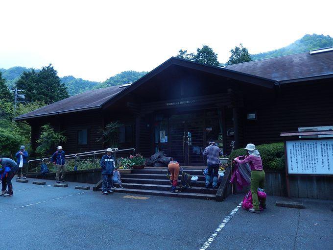 登山口は『福崎町青少年野外活動センター』