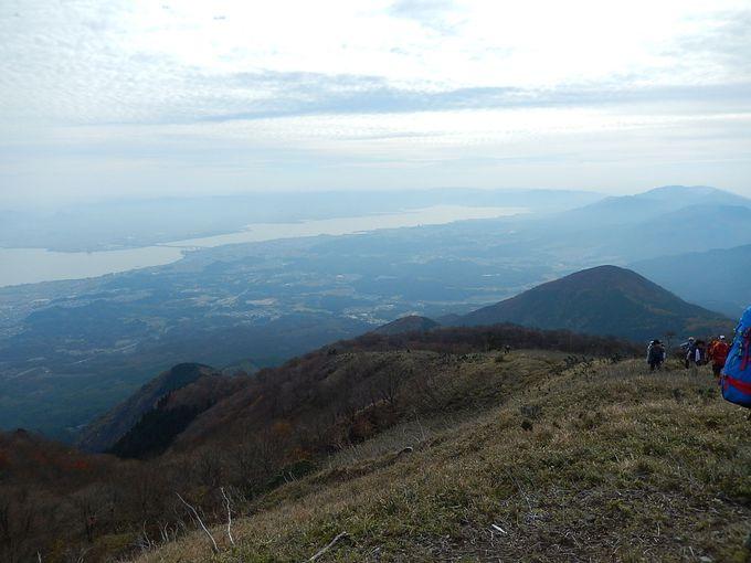 権現山からホッケ山を越えて