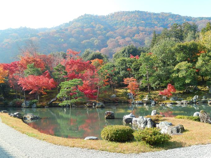 2日目午後:「天龍寺」の美しい庭園は必見