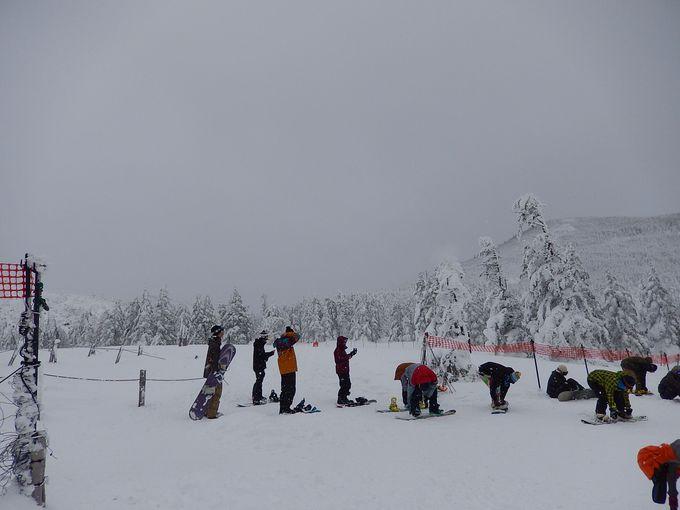 スキー・スノボ・雪山登山のメッカ
