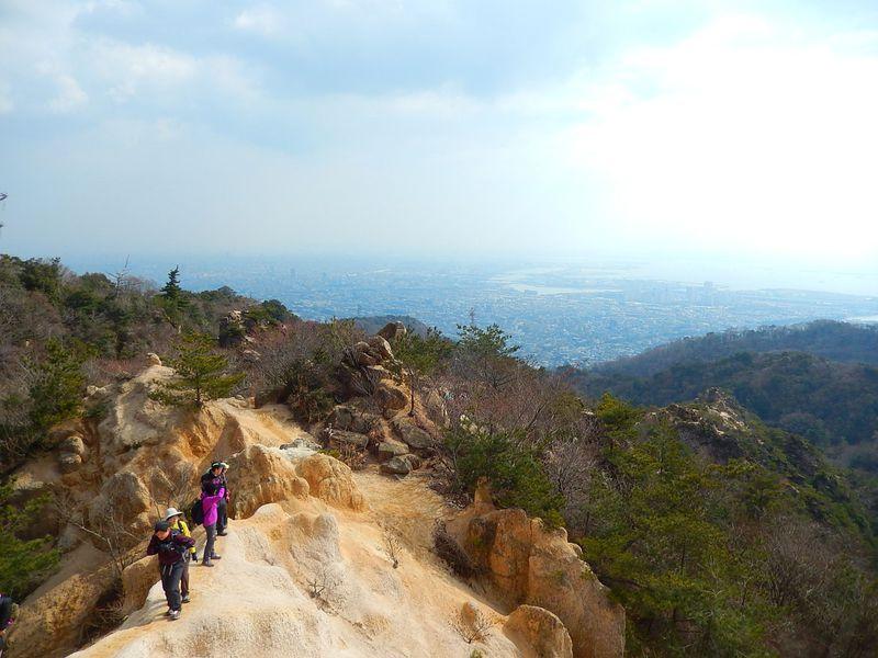 岩のテーマパーク?バリエーションルートで『六甲山』再発見