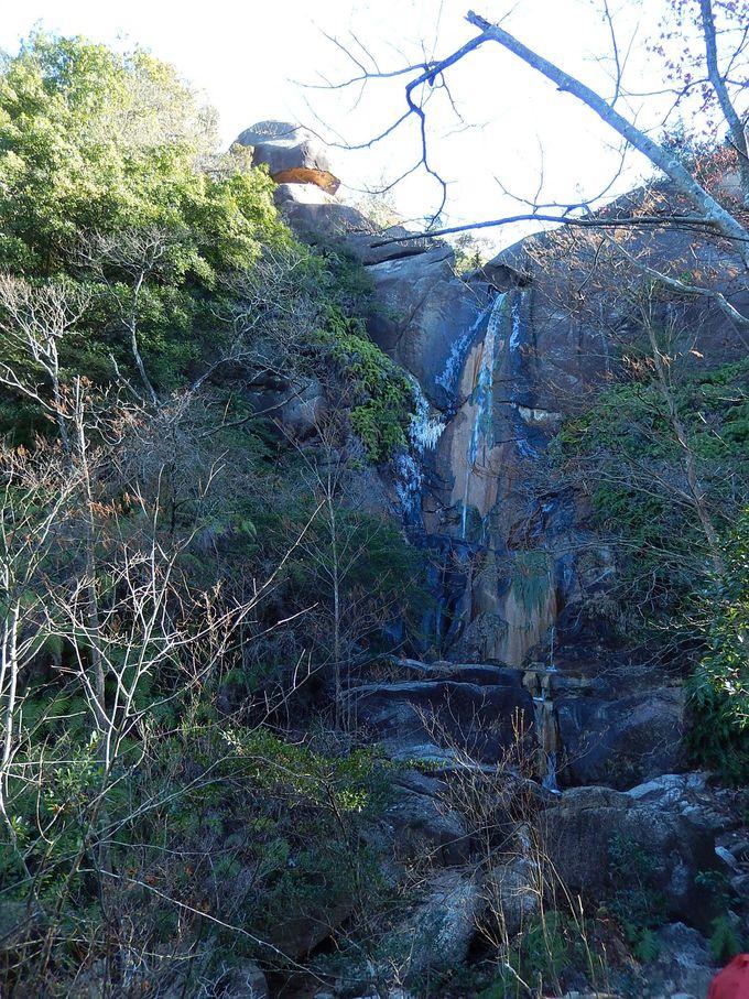 多くの滝に出会う多彩なコース