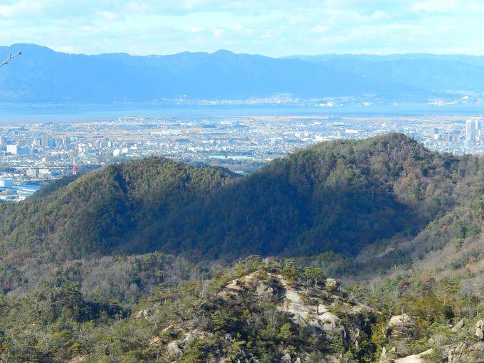 低山でも、抜群の眺望が
