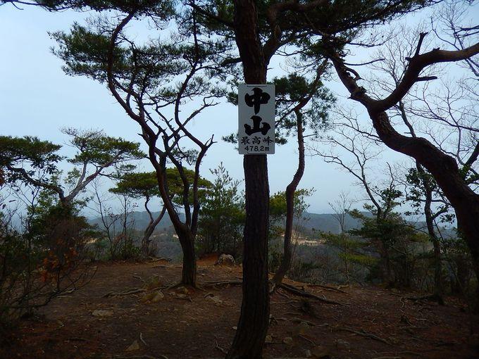 中山山頂からの展望